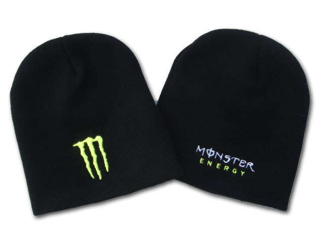 Monster Energy Beanie Black DF